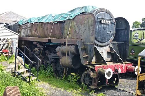 92219 'British Railways' 2-10-0 Class 9F on 'Dennis Basford's railsroadsrunways.blogspot.co.uk'