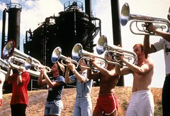 Brass band at Gas Works Park, circa 1975