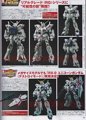 Real & Megasize Gundam Unicorn