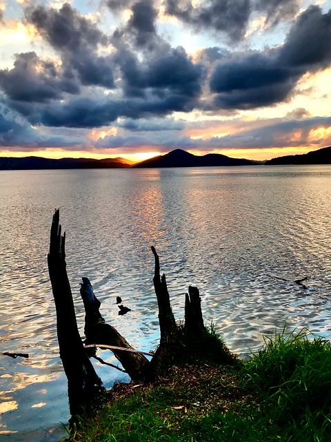 Sunset Point Wallis Lake Sunset, Booti Booti National Park, Pacific Palms, NSW