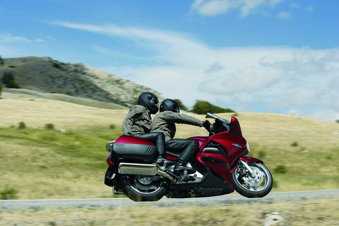 honda st  pan european  galerie moto motoplanete