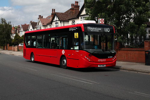 Route 110, London United, DLE30042, YX17NHG