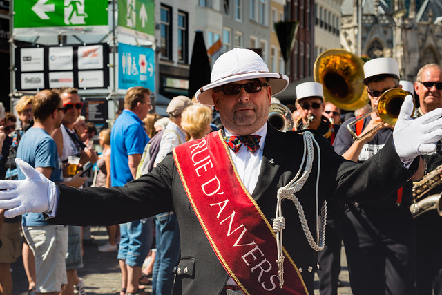 Grand Marshal Jazz Orchestra Rue d'Anvers