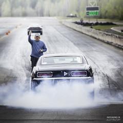 Burn Out - Camaro