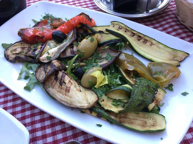 Antipasto vegetariano - Napoletano's Pantheon
