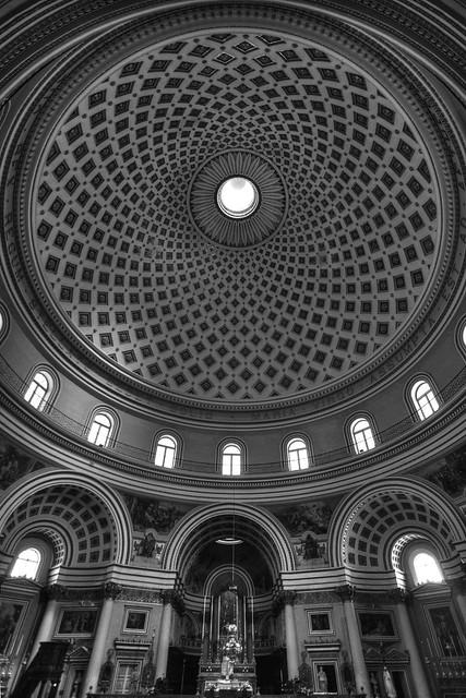 Rotunda Malta - Interior