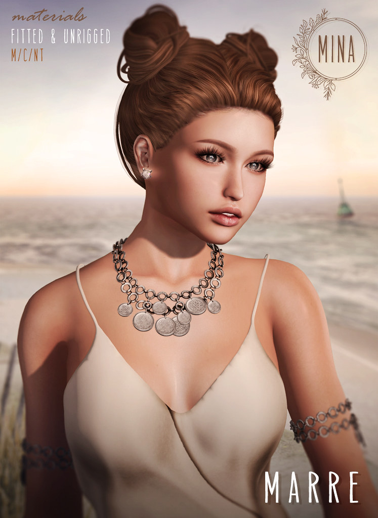 MINA Hair - Marre for FaMESHed - SecondLifeHub.com