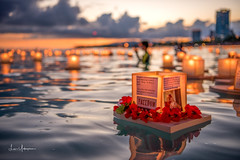 LANTERN FLOATING HAWAII CEREMONY