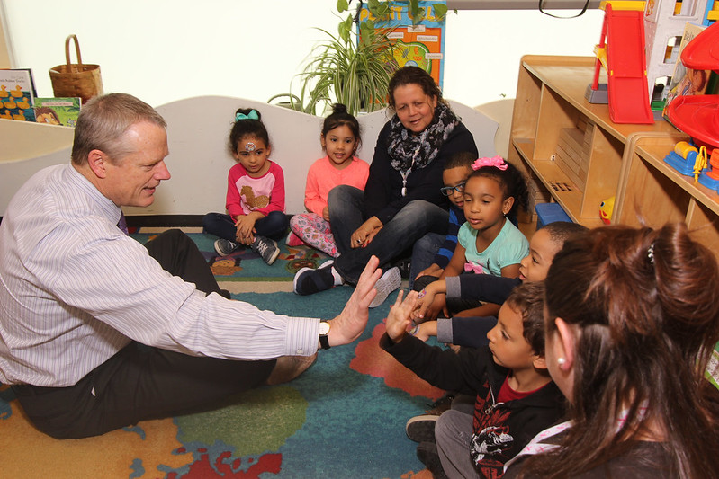 Governor Baker Tours Lawrence Head Start Program, Meets With Early Educators