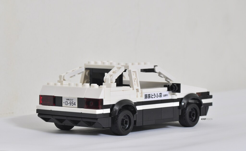 Toyota AE86 of Initial D