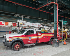 FDNY Plant Ops Lift Truck, Foxhurst, Bronx, New York City