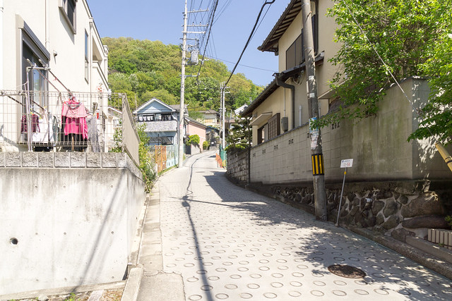 the steepest public road in japan