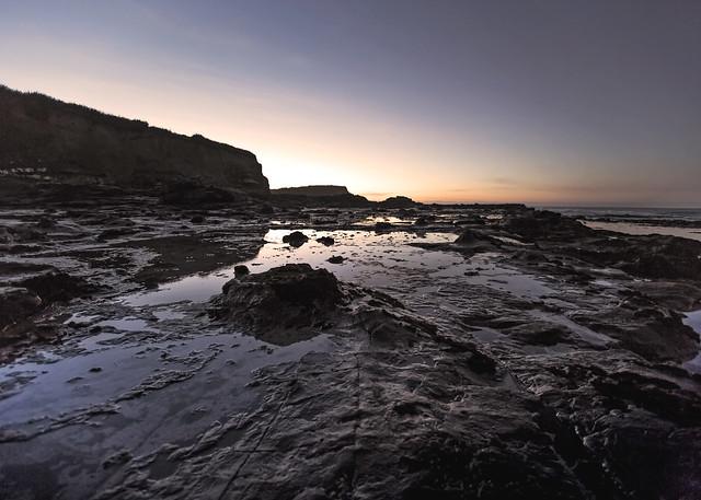 First Light - Curio Bay