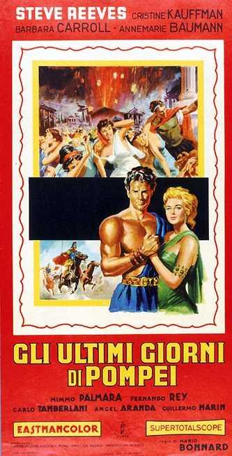 Gli Ultimi Giorni di Pompei - Poster 1