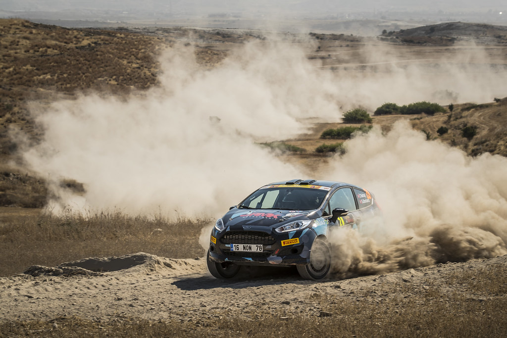 20 TOKTAS Ismet (tur) and BOSTANCI Sedat (tur) CASTROL FORD TEAM TÜRKIYE FORD FIESTA R2 action during the 2017 European Rally Championship ERC Cyprus Rally,  from june 16 to 18  at Nicosie, Cyprus - Photo Gregory Lenormand / DPPI