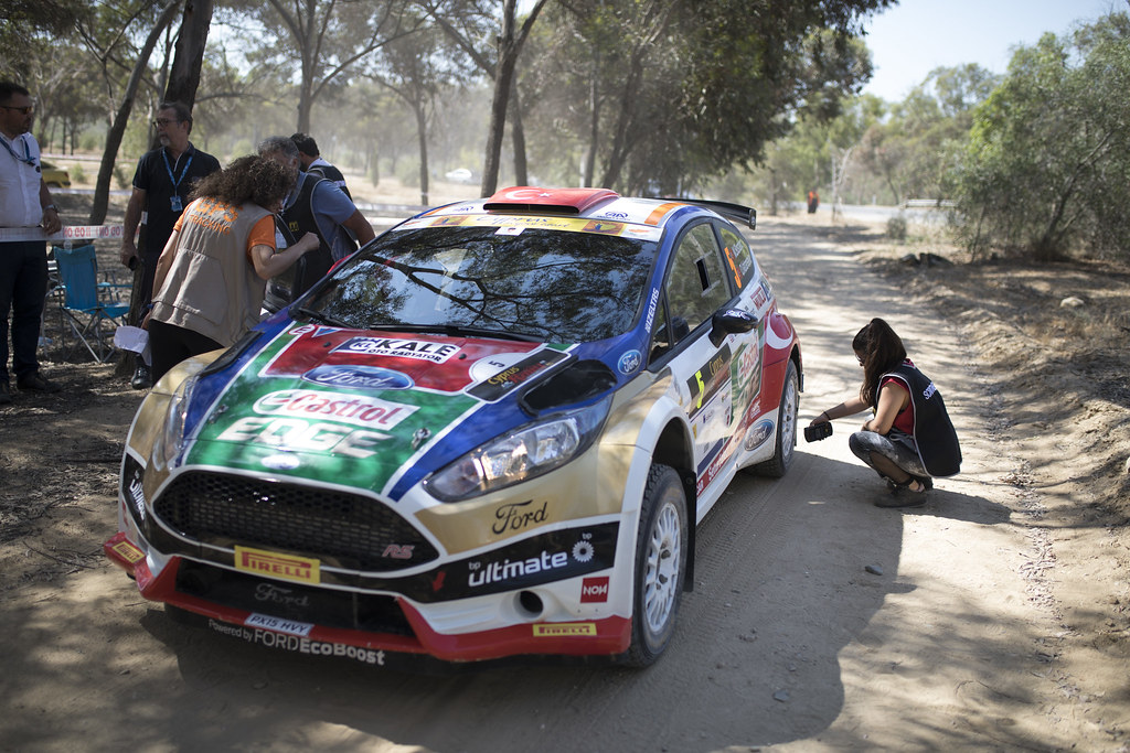 05 BOSTANCI Murat (tur) and VATANSEVER Onur (tur) CASTROL FORD TEAM TÜRKIYE FORD FIESTA R5 action during the 2017 European Rally Championship ERC Cyprus Rally,  from june 16 to 18  at Nicosie, Cyprus - Photo Gregory Lenormand / DPPI
