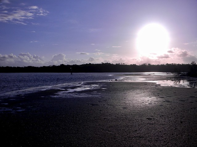 Sunrise Over Mudflats, Nikon COOLPIX L110