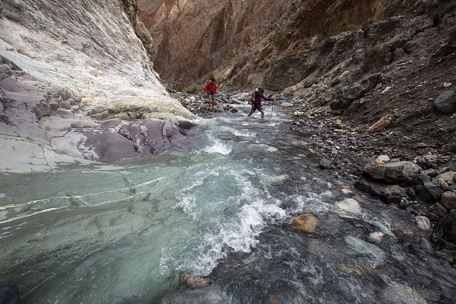 Shilla Gorge river crossing