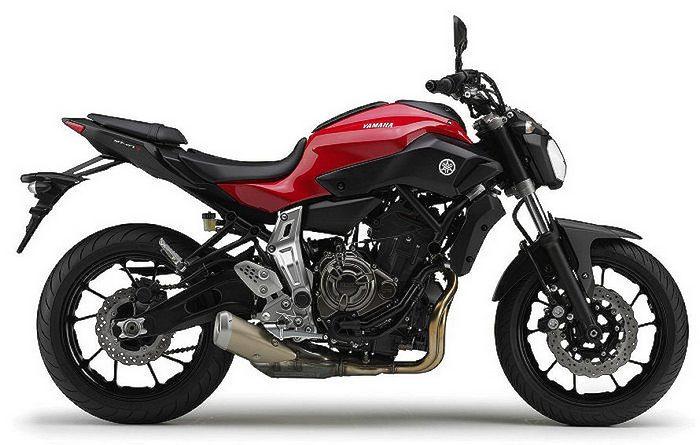Yamaha MT-07 700 2015 - 16