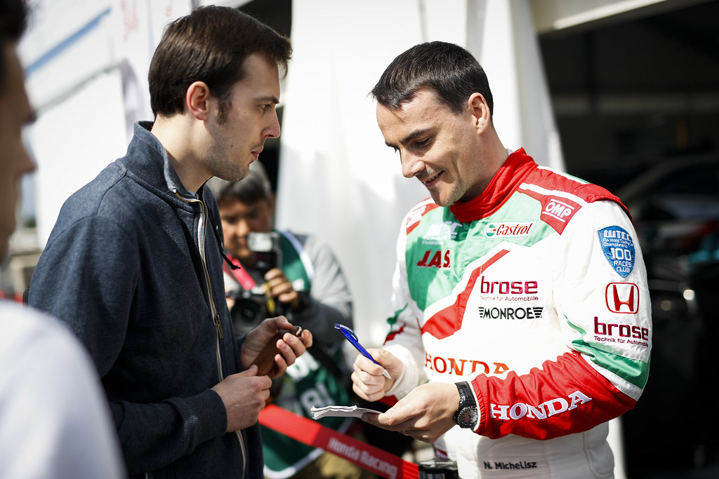 MICHELISZ Norbert (hun), Honda Civic team Castrol Honda WTC, ambiance portrait during the 2017 FIA WTCC World Touring Car Race of Nurburgring, Germany from May 26 to 28 - Photo Florent Gooden / DPPI