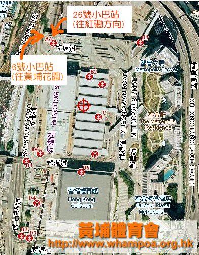 hunghom-station-minibus-layout