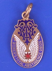 (WTAU) Women's Total Abstinence Union - member's medal (1920's or earlier)