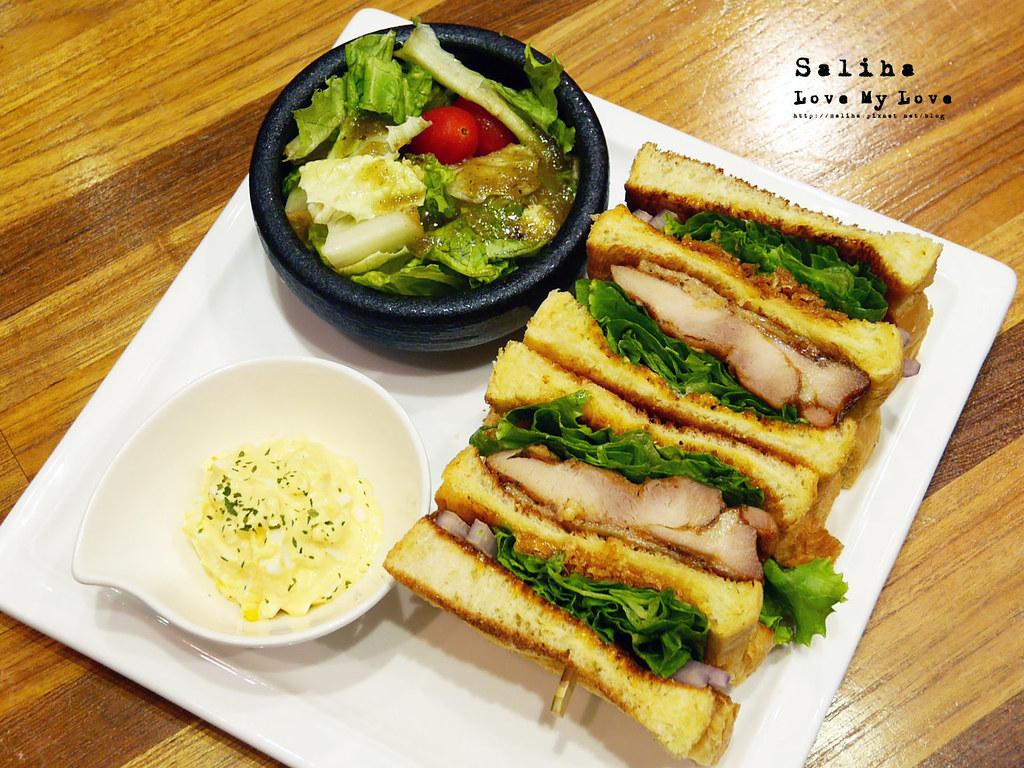 台北松山南京三民站附近餐廳推薦大師兄咖啡早午餐好吃麵 (18)