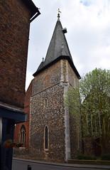triangular tower (12th Century)