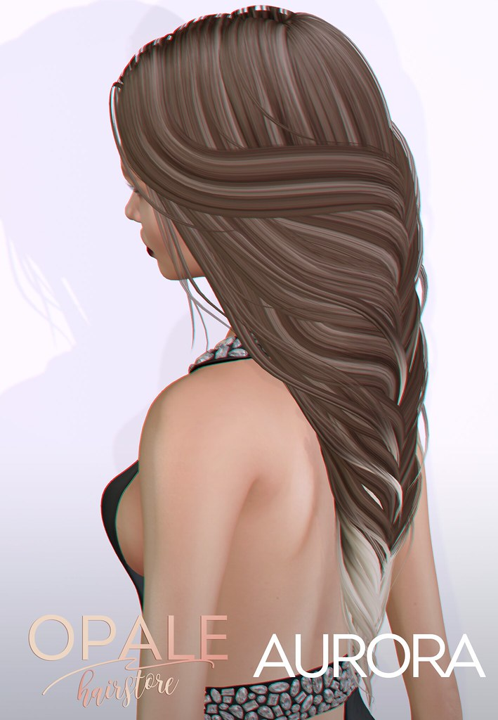 Opale . Aurora Hair @ Tres Chic June 2017 - SecondLifeHub.com