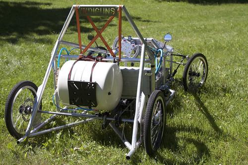 RTU studentu komandas «BEST-Riga» un «RTU Auto» izrāda pašu būvētos pneimobiļus