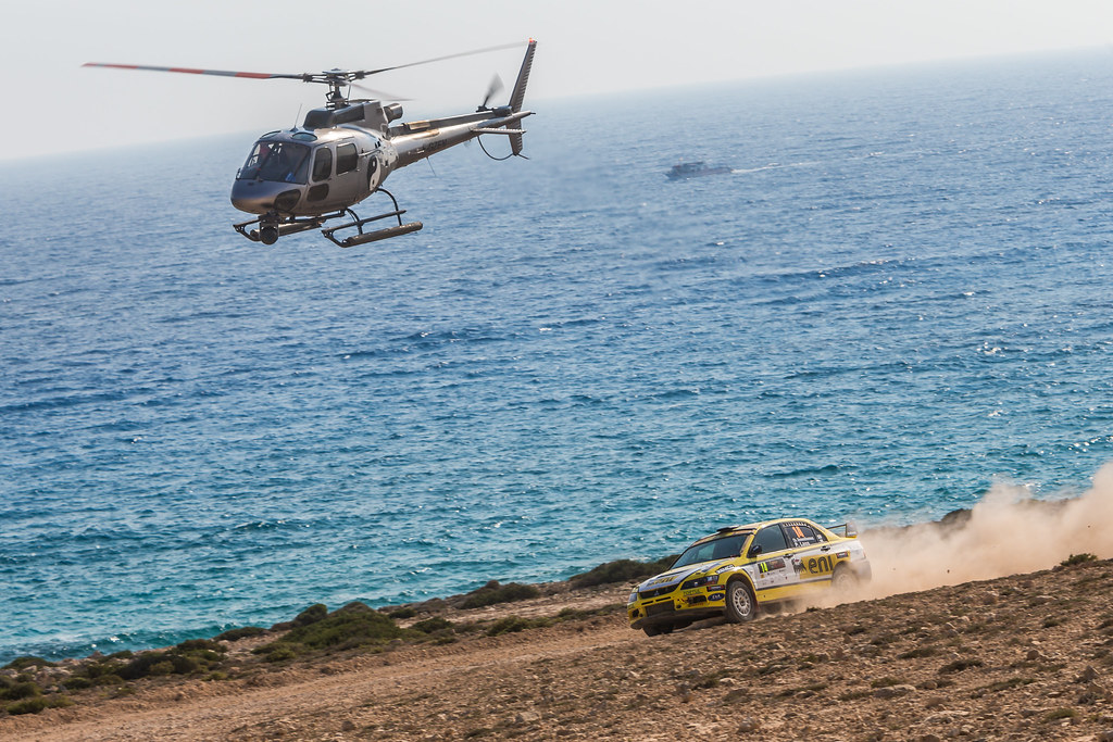 14 DEMOSTHENOUS Christos (cyp) and LAOS Pambos (cyp) PETROLINA - ENI RACING TEAM LANCER EVO IX action during the 2017 European Rally Championship ERC Cyprus Rally,  from june 16 to 18  at Nicosie, Cyprus - Photo Thomas Fenetre / DPPI