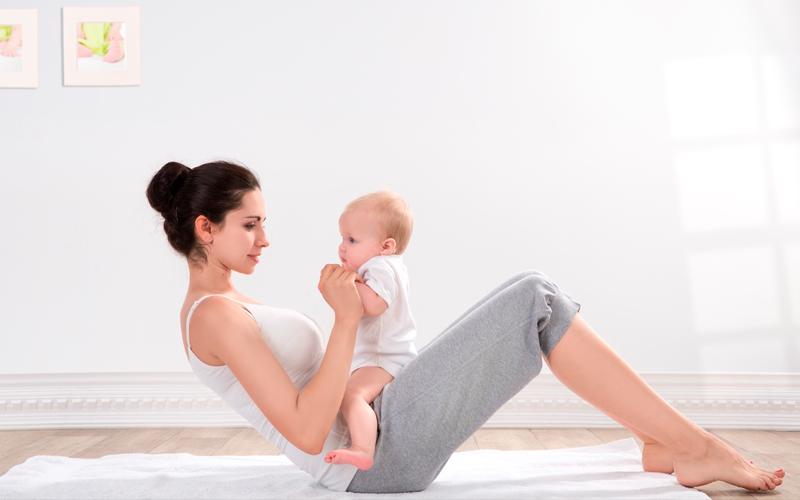 BODY雜誌 女人 嬰兒 運動 瑜珈