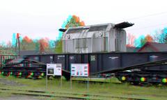 Uranium-elementen Transporter Rheinsberg 3D