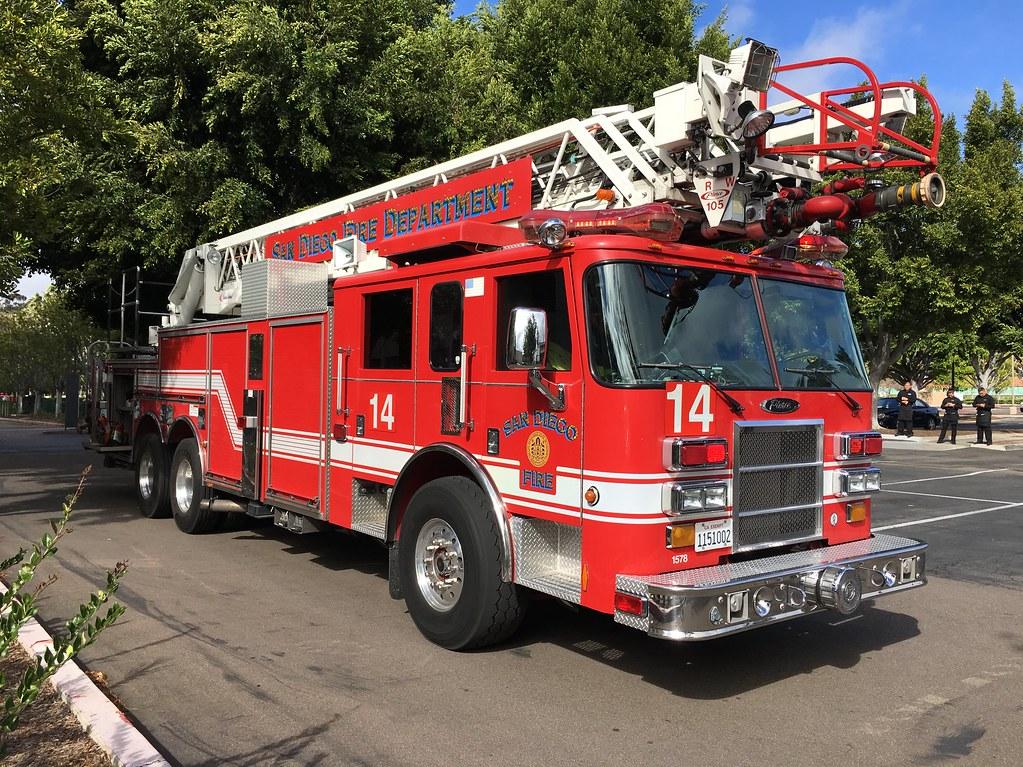 San Diego Fire | San Diego Fire-Rescue Department Truck 14