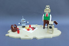Wallace & Gromit: A Grand Day Out - ABS Builder Challenge Part 4