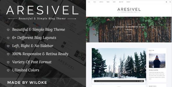 Aresivel v1.3.2 - A Responsive WordPress Blog Theme