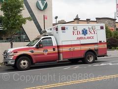 FDNY Ambulance, Rosebank, Staten Island, New York City