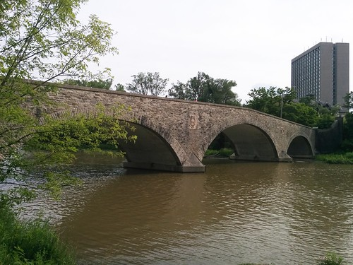 Old Mill Bridge from the north