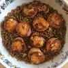 Spanish-inspired scallops