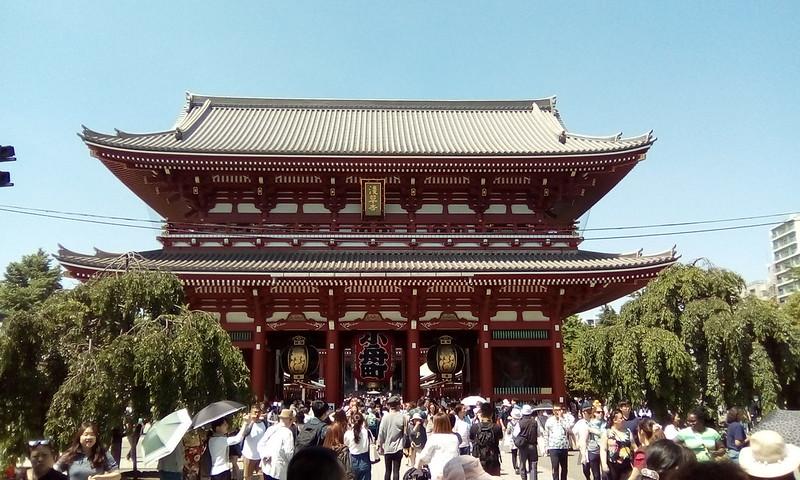 Hozomon gate, Sensoji Temple, Asakusa, Tokyo