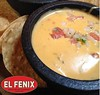 "Fill your mind and your bellies with a trip to the DMA and @elfenixmexican. Get free queso when you show your ""México 1900–1950"" ticket at El Fenix downtown! #VivaDMA"