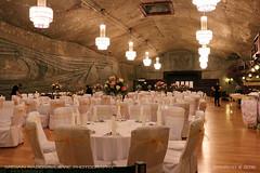 Dinning room in Wieliczka Salt Mine