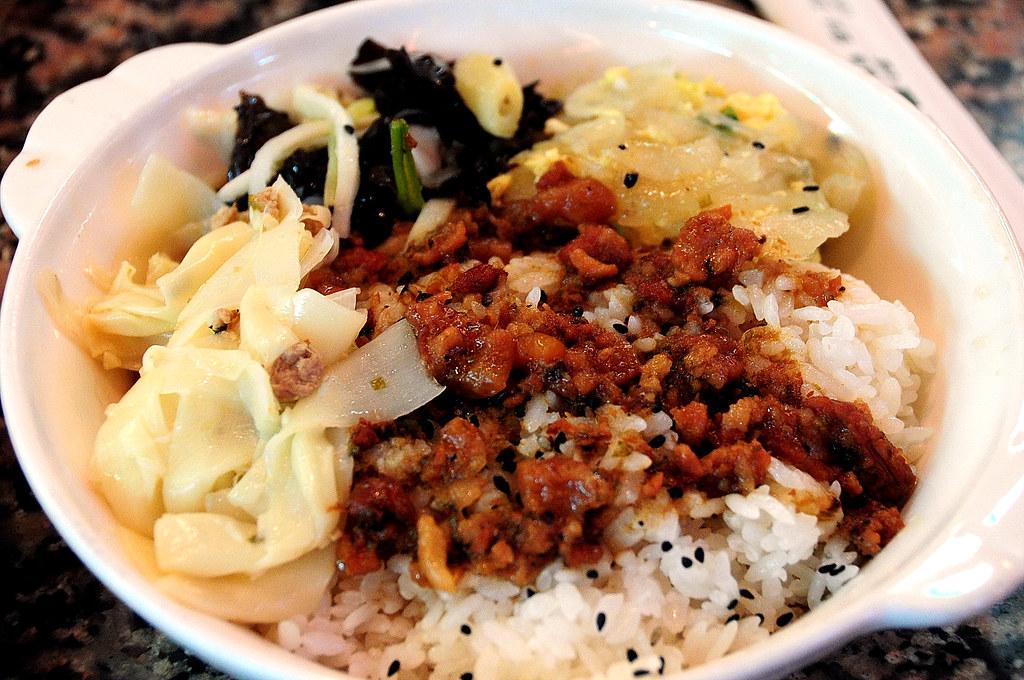 東一排骨-菜飯 2009-07-22