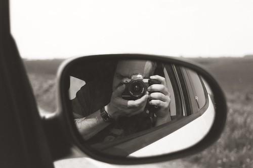 Old-school Selfie
