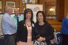 Rep. Dauphinais meets with Susan Desrosiers from The Arc of Quinebaug Valley