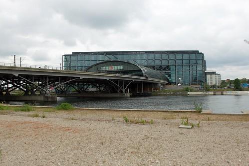 Humboldthafen und Hauptbahnhof