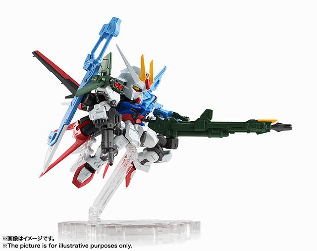 NXEDGE STYLE [MS UNIT]《機動戰士鋼彈SEED》GAT-X105 完美攻擊鋼彈、 翔翼型攻擊鋼彈