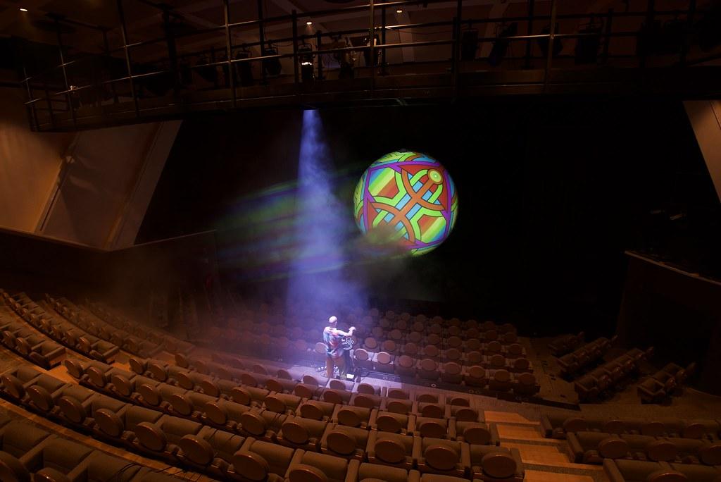 L astroglyphe au théâtre