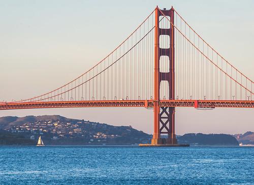 sanfrancisco goldengate sunset california visitcalifornia bridge boat bay alpha6000 sony sonyalpha beautiful
