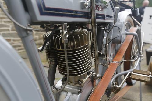 Harley-Davidson Motorcycle Engine - 1912